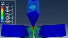 آموزش شبیه سازی آسیب آلومینیوم در اثر برخورد جسم فولادی با استفاده از معیار جانسون-کوک در ABAQUS