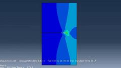 آموزش شبیهسازی رشد ترک در اثر باگذاری خستگی به روش XFEM در نرم افزار ABAQUS
