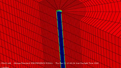 آموزش مدلسازی شمع منفرد بتنی در خاک چندلایه در نرم افزار ABAQUS