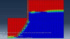 آموزش شبیهسازی فرایند تغییر شکل سد الاستیک در ABAQUS