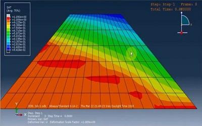 آموزش تحلیل تخلخل و پیدا کردن سطح فراتیک سد خاکی در ABAQUS